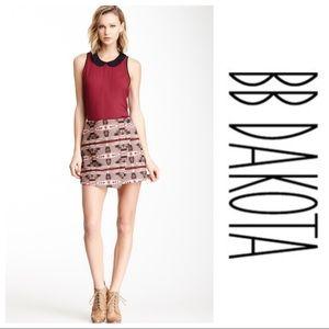 NWT BB Dakota Camryn Wrap Skirt